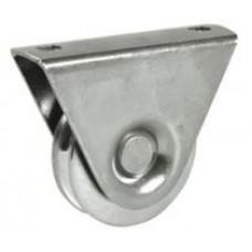Колело за плъзгаща врата с фиксатор  ф=80мм 386/80