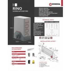 Автоматика плъзгащи врати RINO 1000