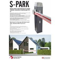Автоматична паркинг бариера PROTECO S-Park 24V 6 МЕТРА